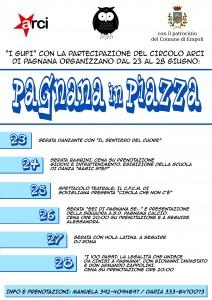 locandina A3 Pagnana in Piazza 2014