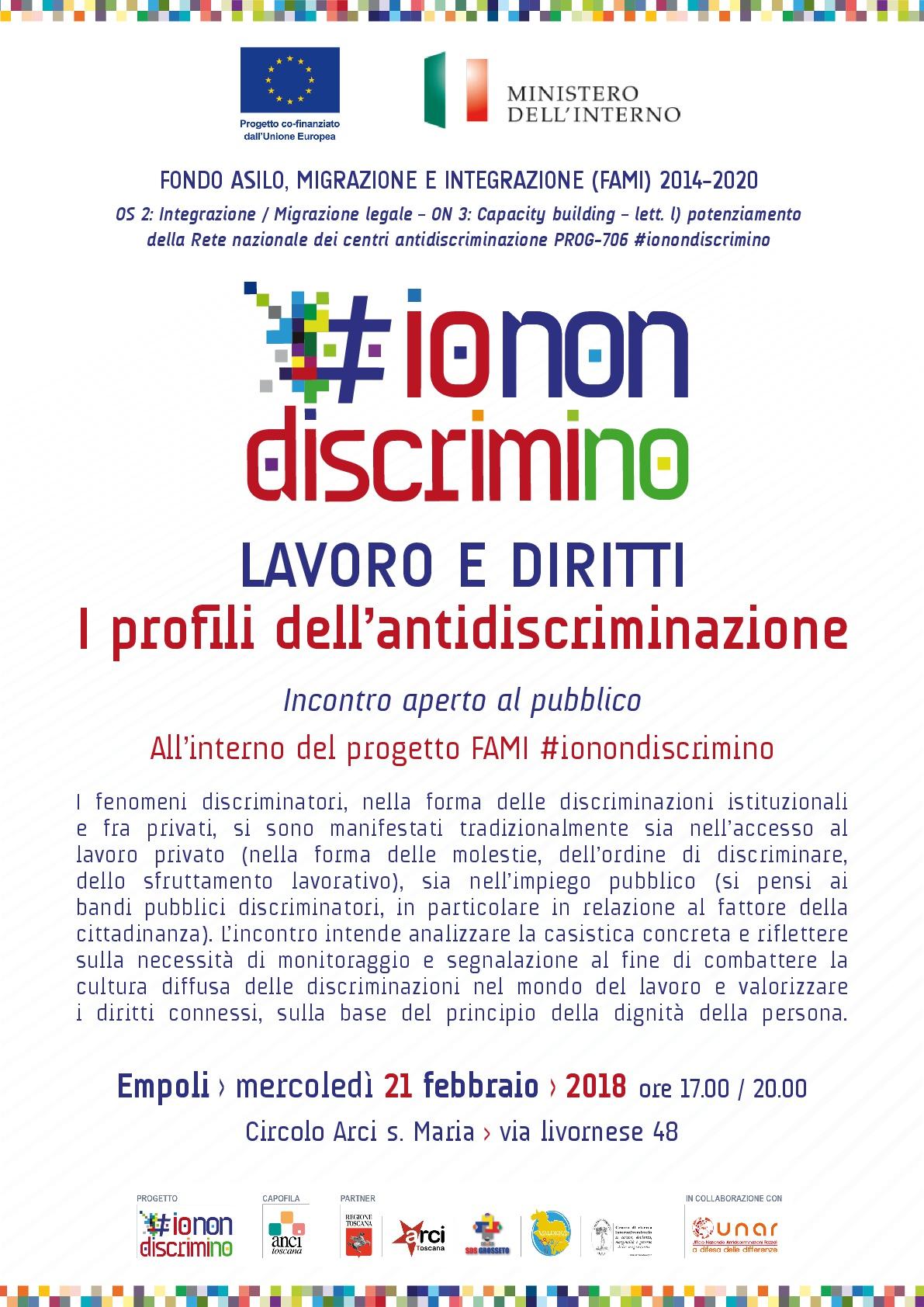 #IoNonDiscrimino